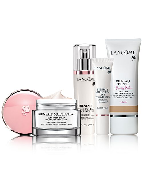 Lancome BIENFAIT All Skin Types Collection