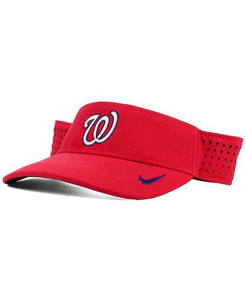 362d7444 Nike Washington Nationals Vapor Visor; Nike Washington Nationals Vapor Visor  ...