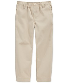 Nautica School Uniform Pull-On Pants, Little Boy