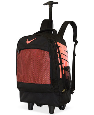 Nike Boys Or Girls Logo Rolling Backpack Kids Amp Baby