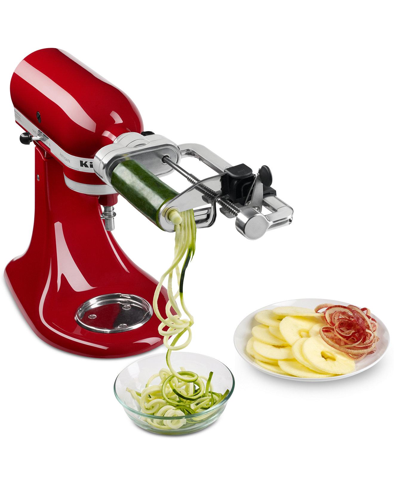 Macys Kitchen Appliances Kitchenaid Ksm1apc Spiralizer Stand Mixer Attachment Electrics