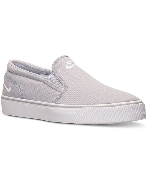 online store 6456d 982cc ... Nike Men s Toki Low Slip Casual Sneakers from Finish ...