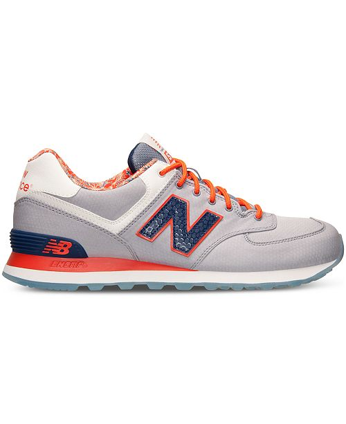 new balance. mens 574 luau casual sneakers from finish line. 1 reviews. main image main image main image