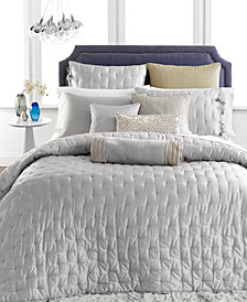 Hotel Collection Finest Silver Leaf Coverlet Collection, Created for Macy's