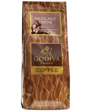 Godiva Coffee, 10oz Hazelnut Creme Flavored Coffee