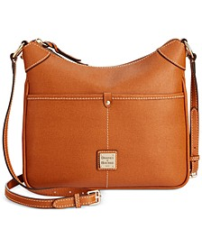 Saffiano Leather Kimberly Crossbody