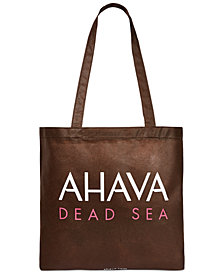 Receive a Free Ahava tote bag with any $35 Naturals purchase