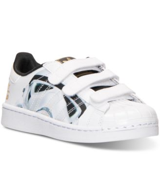 Star Wars Toddler Boy Storm Trooper  Black White High Top Sneakers Shoes Casual