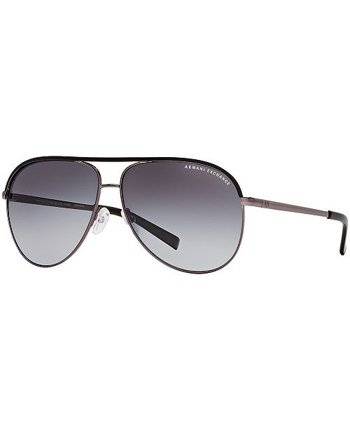 35afdb0c9c879 ... Armani Exchange AX Polarized Sunglasses