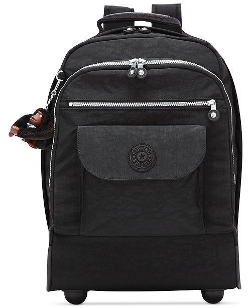 educar conocido Reanimar  Kipling Sanaa Large Rolling Backpack & Reviews - Handbags & Accessories -  Macy's