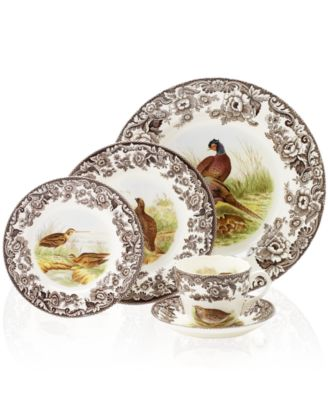 Woodland by Spode Red Grouse Dinner Plate - Dinnerware - Dining ...