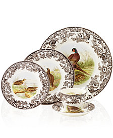 Spode Dinnerware, Woodland Bird Collection