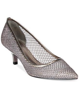 14055a1a633 Adrianna Papell Lois Evening Pumps   Reviews - Pumps - Shoes - Macy s