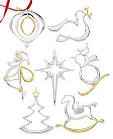 Nambé 2015 Christmas Ornament Collection
