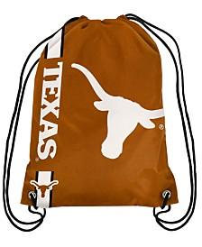 Forever Collectibles Texas Longhorns Big Logo Drawstring Bag