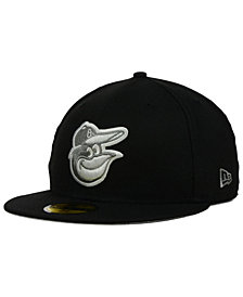 New Era Baltimore Orioles Graphite 59FIFTY Cap