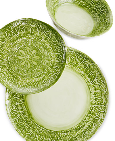 Maison Versailles Castleware Melamine Green Collection