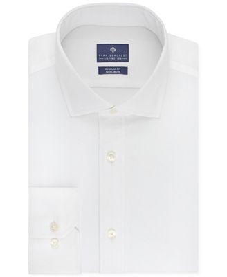Ryan Seacrest Distinction Men's Classic-Fit Non-Iron Solid Dress Shirt