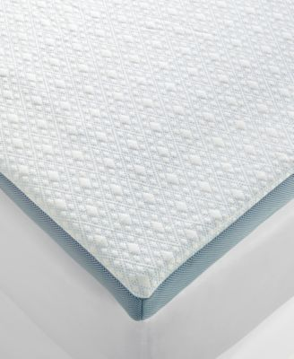 sensorgel 3u0027u0027 advanced icool gel memory foam toppers