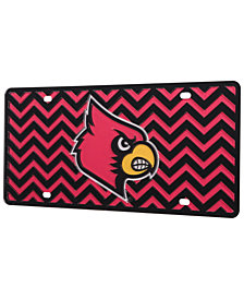 Stockdale Louisville Cardinals Chevron License Plate