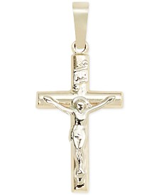 Small Crucifix Pendant in 14k Gold