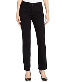 Petite Lexington Short Straight-Leg Jeans, Created for Macy's