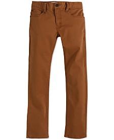 Levi's® 511™  Slim Fit Sueded Pants, Little Boys