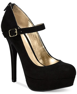 Material Girl Koko Mary Jane Platform Pumps, Only at Macy s