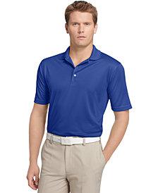Izod Men's Performance UPF 15+ Solid Grid Golf Polo