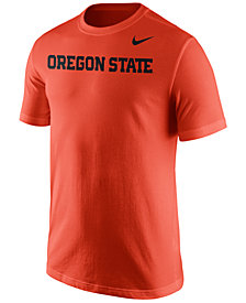Nike Men's Oregon State Beavers Wordmark T-Shirt