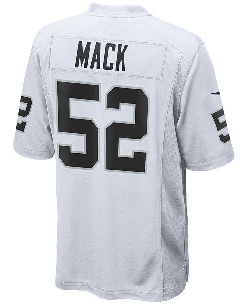 Nike Men's Khalil Mack Oakland Raiders Game Jersey