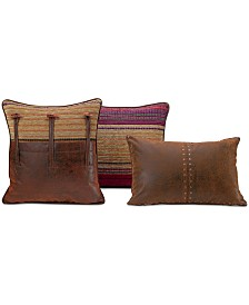 "Croscill Plateau 22"" x 15"" Boudoir Decorative Pillow"