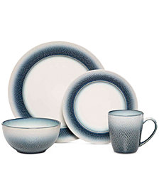 Pfaltzgraff Eclipse Blue 16-Pc. Set, Service for 4
