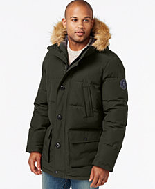 Tommy Hilfiger Men's Big & Tall Long Snorkel Coat