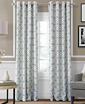 Elrene Crackle Room Darkening Collection - Easy Care Linen Look!