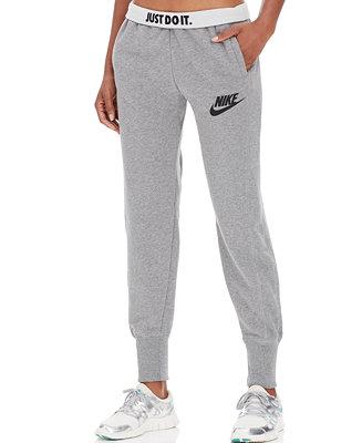 Model Womens Clothing  Nike Sportswear Womens Rally Plus Jogger  Deep