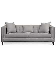 "Braylei 88"" Fabric Track Arm Sofa, Created for Macy's"