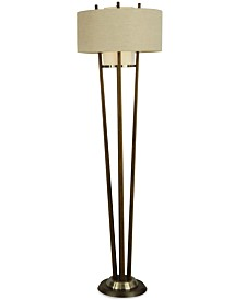 Nova Lighting Veld Wood Floor Lamp