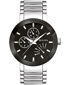 Men's Futuro Stainless Steel Strap Watch 40mm 96C105