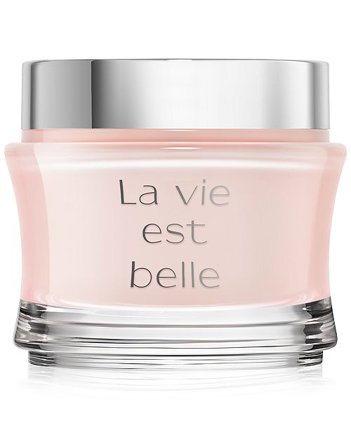 Lancome La vie est belle Exquisite Fragrance Body Cream, 6.7 oz