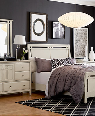 Edgewater White Bedroom Furniture Collection Furniture