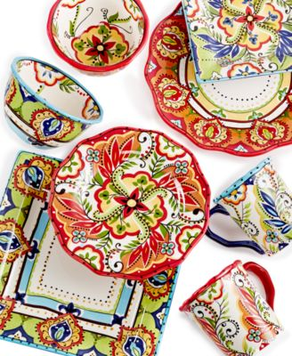 Espana Bocca Mix \u0026 Match Collection  sc 1 st  Macy\u0027s & Espana Bocca Mix \u0026 Match Collection - Dinnerware - Dining ...