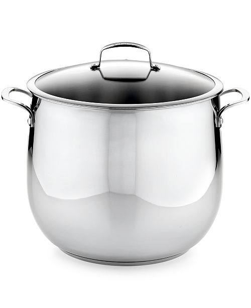 Belgique Stainless Steel 20 Qt Stockpot Created For Macys
