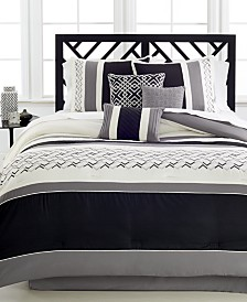 Fletcher 7-Pc. Queen Comforter Set (Several Colors)