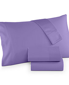 CLOSEOUT! Charter Club King 4-pc Sheet Set, 300 Thread Count Egyptian Cotton Blend, Created for Macy's