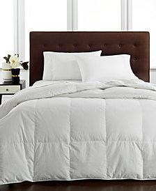 CLOSEOUT! Hotel Collection Light Weight Siberian White Down Comforters, Hypoallergenic UltraClean Down, Created for Macy's
