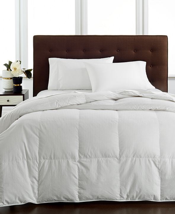 Hotel Collection CLOSEOUT! Light Weight Siberian White Down Twin Comforter, Hypoallergenic UltraClean Down, Created for Macy's