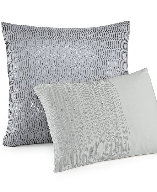Calvin Klein Twilight 40 Square Decorative Pillow Decorative Enchanting Calvin Klein Decorative Pillows