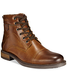 Alfani Men's Jack Cap Toe Boots, Created for Macy's