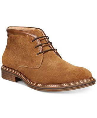 Alfani Men's Gavin Collar Chukka Boots, Only at Macy's - All Men's ...